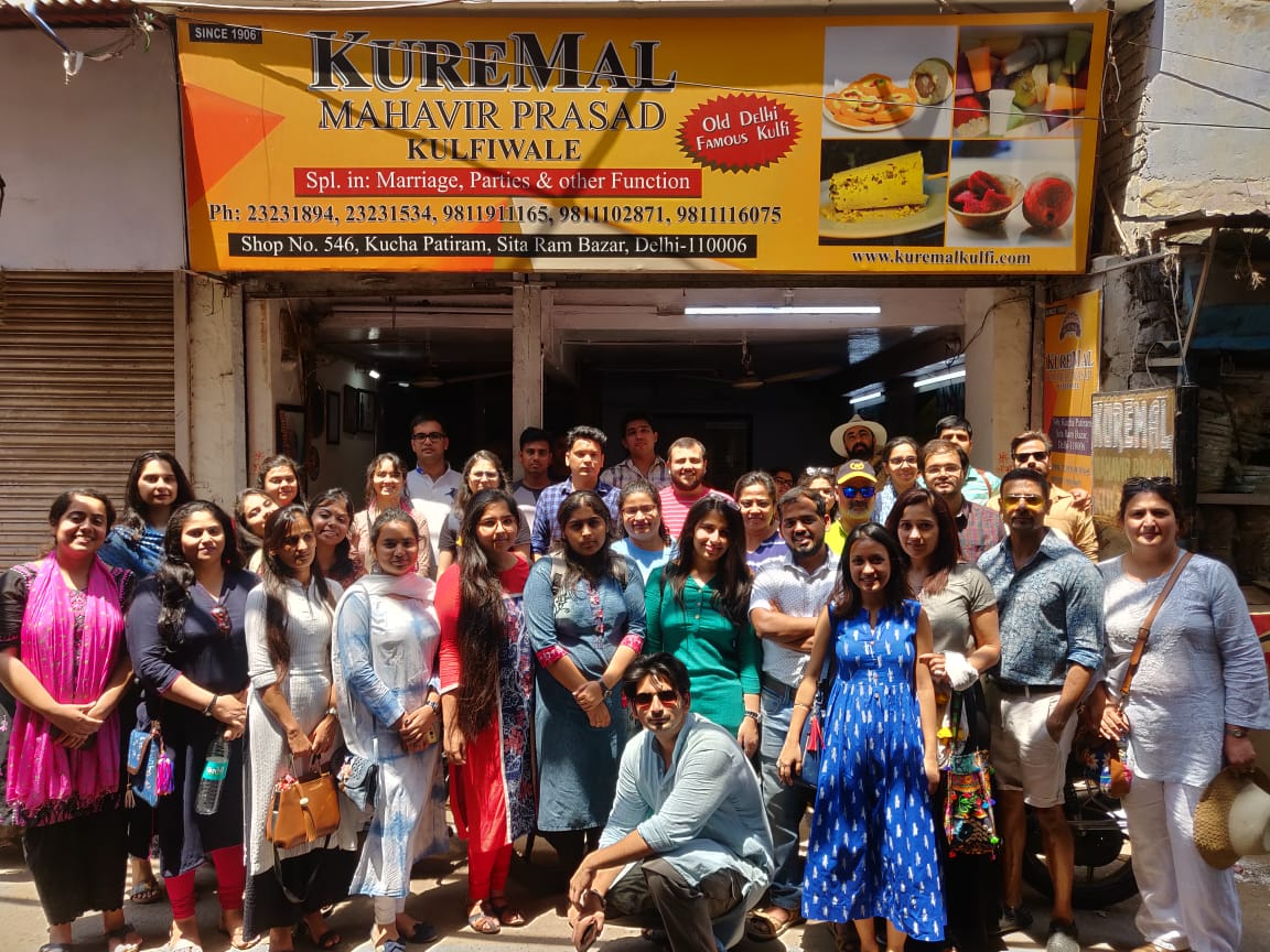 kuremal kulfi happy customers